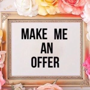 ✨ MAKE ME AN OFFER! ✨